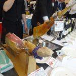 アンダルシア製品展示会、スペイン産生ハムなど提案し大盛況