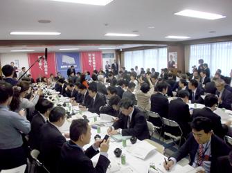 自民台風19号対策本部、岸田政務調査会長「政治の責任果たす」