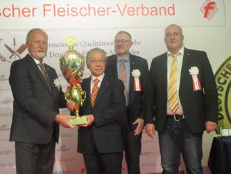 IFFA日本食肉加工コンテスト授賞式、総合優秀賞にサイボクハム
