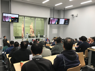 京都食肉市場枝肉共進会和牛の部開催、長野県の土屋畜産がGC
