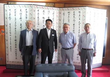 石垣牛流通協議会が県と石垣市で設立報告、中山市長が相談役に