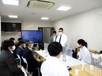 京都市食肉青年会が講習会で特殊冷凍技術について研修を行う