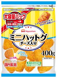 日本ハム、韓国の人気屋台グルメ「ミニハットグ」を発売