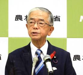 金子新農水大臣就任会見「国民や生産者の立場に立った政策を進める」